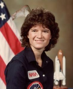 Sally Ride's Head Foot