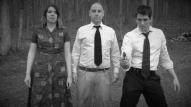 (from left) Kayla Clark as Lisa, Matt Spahr as Murray, and Matt Laumann as Ed