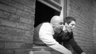 (from left) Michael Peake as Dr. Chang and Matt Laumann as Ed