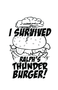 Thunderburger T-Shirt Design
