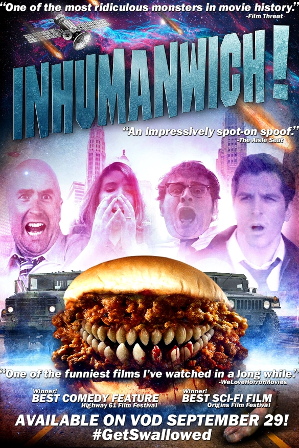 Inhumanwich! on VOD Sept 29