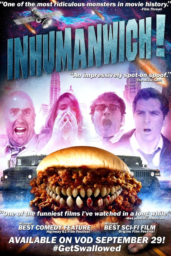 Inhumanwich! on VOD Sept 29